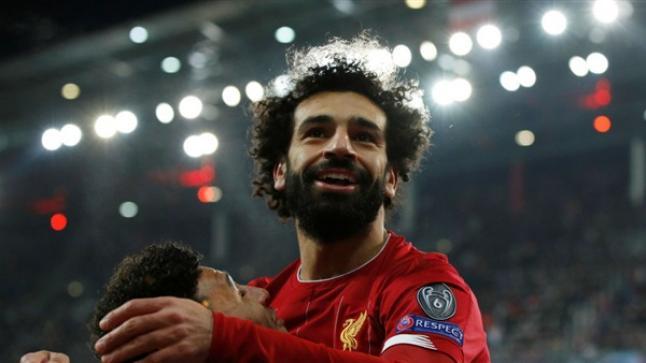 هدف عالمي محمد صلاح مع ليفربول أمام سالزبورج بدوري أبطال أوروبا
